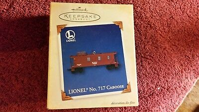 Hallmark Keepsake Ornament Lionel No. 717 Caboose 2005  NIB