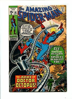 Amazing Spider-Man #88 VF+ 8.5 HIGH GRADE Marvel Comic Silver Age 15c VINTAGE