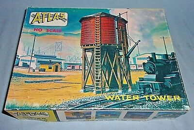 Vintage Atlas Water Tower Kit #703 HO Empty Box Only