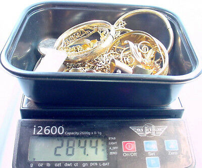 Gold Filled Scrap Lot For Gold Recovery 282.0 Grams  No Reserve Very Clean Nice