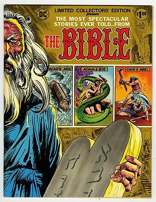 Limited Collectors' Edition presents The Bible VF+ 8.5 HIGH GRADE Treasury DC