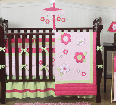 Flower Room Collection Baby Crib Bedding Set for Newborn Girl Sweet Jojo Designs