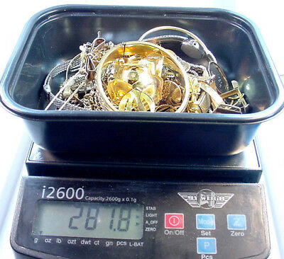 Gold Filled Scrap Lot For Gold Recovery 280.0 Grams  No Reserve Very Clean Nice
