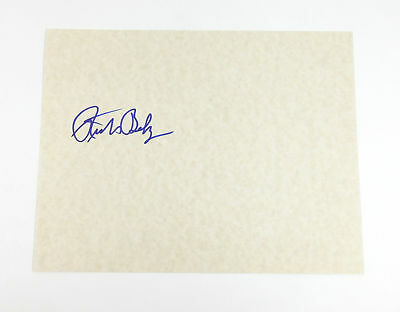 Richard Belzer Signed 8 x 10 Blank Card Ideal For Framing Auto