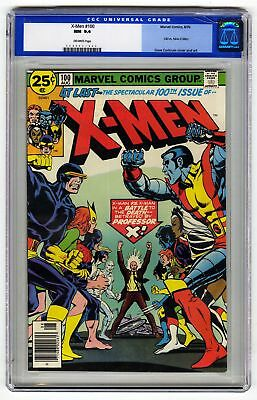 X-Men 100 CGC 9.4 HIGH GRADE Marvel Comic KEY Phoenix Origin OLD LABEL Wolverine