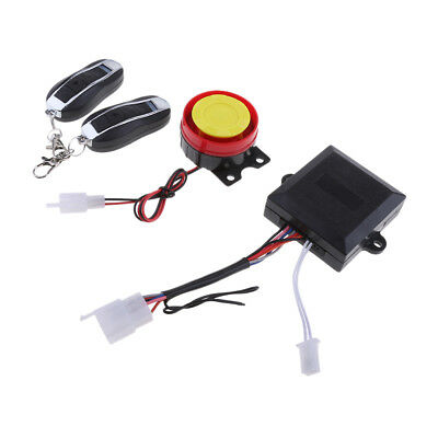 Universal Motorcycle Alarm System Anti-theft Security Remote Control Set Kit