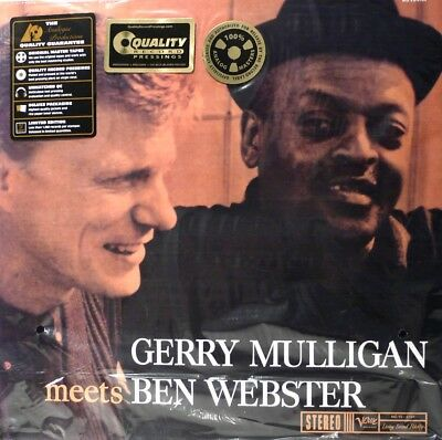 Gerry Mulligan Meets Ben Webster  Analogue Productions  Avrj-6104  33Rpm
