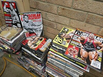 Bodybuilding Magazines Muscular Development etc.