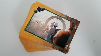 Stargate The Movie full set of 100 common cards Near mint condition