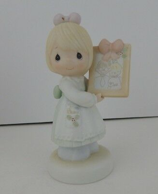 Enesco Precious Moments To A Very Special Mom and Dad Figurine #521434 w/Box