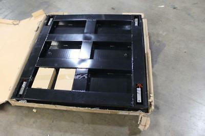 1000 x 2 lb. Capacity 4' x 4' Industrial Floor Scale / Display- CS-2010-4x4