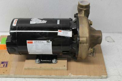 Dayton 1.5 Hp 3 Ph 3450 RPM 1 1/4 in Outlet Centrifugal Pump 2ZXA4