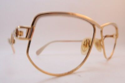 Vintage 80s Cazal eyeglasses frames white size 59-12 made in Germany