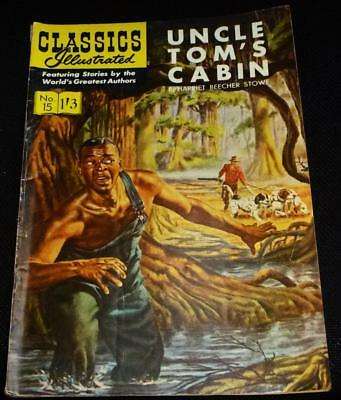 Classics Illustrated - Uncle Toms Cabin No.15 in good condition