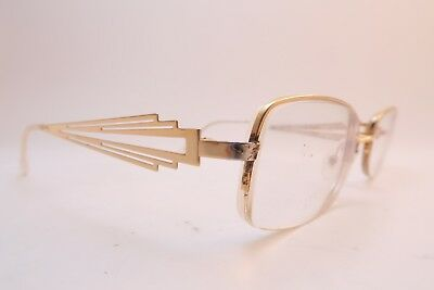 Vintage gold filled eyeglasses frames Henry Jullien CONNIVENCE 50-19 135 France