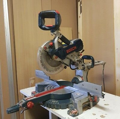 Bosch gcm 10 sd Pull Out double bevel Chop Saw 110 Volt
