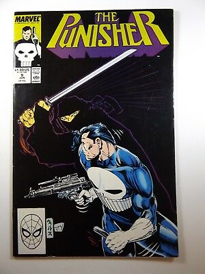 The Punisher #9 '87 On-Going Series Sharp Fine Condition!!