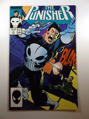 The Punisher #4 '87 On-Going Series Beautiful VF Condition!!