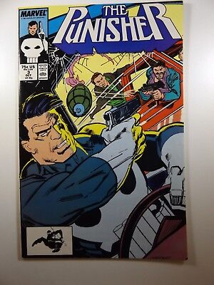 The Punisher #3 '87-Series Ongoing Series Beautiful VF-NM Condition!!