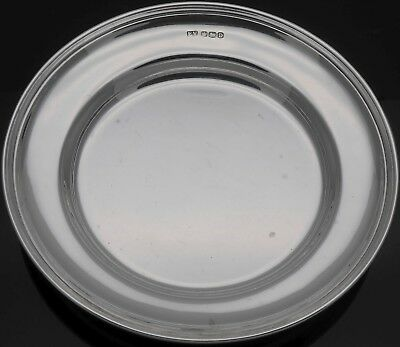 STERLING SILVER 81g COASTER DISH - VINERS - SHEFFIELD 1946 - VINTAGE
