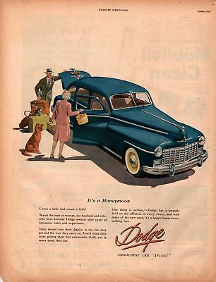 1947 Country Gentleman Magazine Advertisement Dodge 1 Page A426