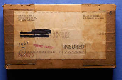 5 sets of 1963 U.S. Proof Sets sealed in original shipping box. Unopened.