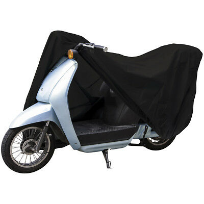"""Lunatic Medium Scooter Cover - Black - Fits Scooters up to 61"""" Long"""