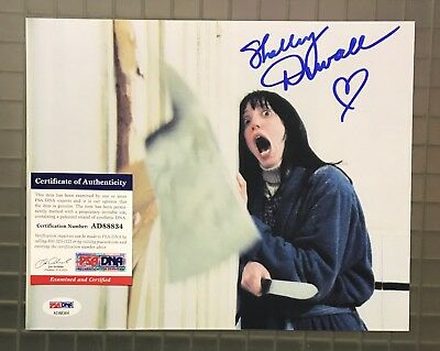 Shelley Duvall Signed 8x10 THE SHINING Photo Autographed AUTO PSA/DNA COA