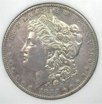 1883-S Morgan Silver Dollar  Nearly Uncirculated  Better Date!