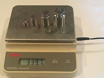 Ohaus CT1200 Portable Advance Scale 1210 X .1g PLUS 4 weights