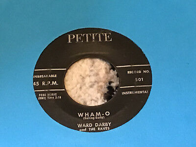 45 RPM Ward Darby PETITE Wham-O / Safari MAD MIKE  VG