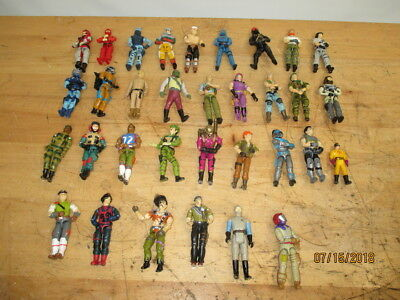 ORIGINA STAR TREK GI JOE BARADA LAST 17 RARE HUGE MIXED LOT of 50 ACTION FIGURES