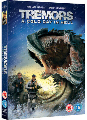Tremors - A Cold Day in Hell DVD (2018) Jamie Kennedy