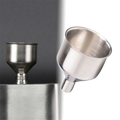 1 x Universal Stainless Steel Funnel 2 Inch For Filling Small Bottles and Flasks
