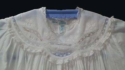 Feltman Brothers Christening White NB/3M Baptismal Gown Lace Free shipping