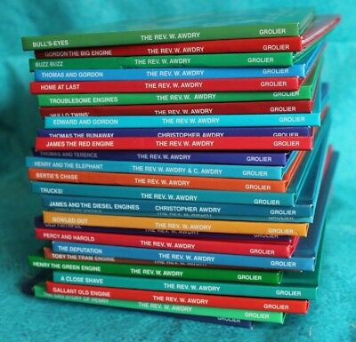 Job Lot Collection x26 Thomas Tank Engine Book Club HBs (Hospiscare)
