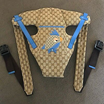 Gucci baby carrier sling