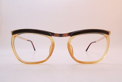 Vintage 50s gold filled eyeglasses frames Fil d'Or 20/000 -12K made in France