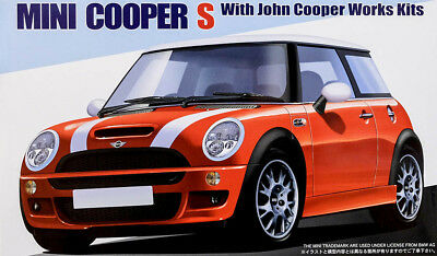 Mini Cooper S John Cooper Works Kits 1:24 Model Kit Bausatz Fujimi 12253