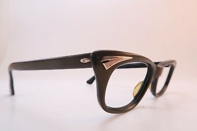 Vintage 50s Metzler eyeglasses frames 44-22 135 made in Germany women's SML