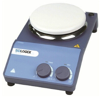 NEW Scilogex MS-H-S Circular Top Analog Magnetic Stirrers w/ Porcelain Plate