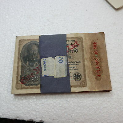 100 Reichsbanknoten 1. Milliarde Mark 1922                         V21