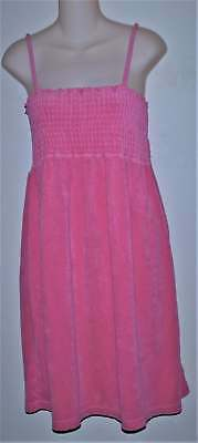 Old Navy Maternity Pink Summer Stretch Terry Dress Top Swim Cover Size Xl Xlarge