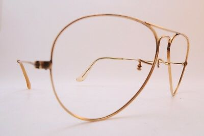 Vintage B&L Ray Ban aviator eyeglasses frames gold filled 10K GF made in the USA