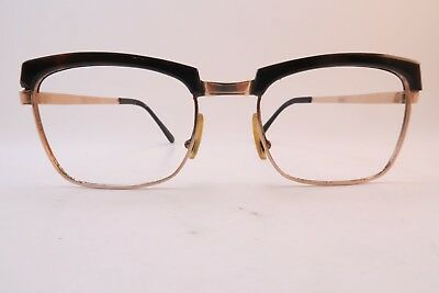 Vintage 60s gold filled eyeglasses frames made in France men's medium