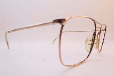 Vintage gold filled Marwitz Optima eyeglasses frames size 52-18 Germany