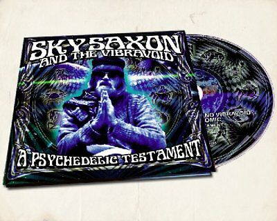 SKY SAXON & THE VIBRAVOID - Look What The Bombs Have Done - CD Clostridium
