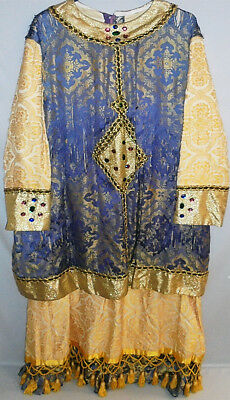 Early -Masonic Scottish Rite- Vintage King Solomon Brocade Uniform/Costume Robe
