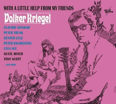 VOLKER KRIEGEL - With A Little Help from my Friends - CD 1968 MadeInGermany