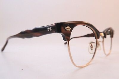 Vintage 50s gold filled Art Craft eyeglasses frames size 4 1/4 - 5 1/2 USA ****